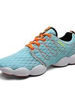 Men's Running Shoes Tulle Blue / Green