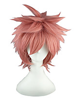 FAIRY TAIL-Natsu Dragneel Pink 14inch Anime Cosplay Wig CS-011C