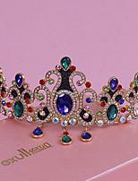 Dame Rhinestone / Legering Headpiece-Bryllup / Spesiell Leilighet / Utendørs Diademer 1 Deler