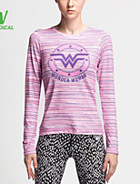 Running Tops / T-shirt Women's Quick Dry / Lightweight Materials / Sweat-wicking / Compression Running Sports Sports Wear Others