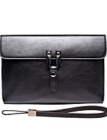 L.WEST Men's The Fashion Leisure High-grade Package Cover Type Clutch
