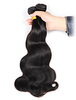 3 Pieces Brazilian Human Hair Weaves Body Wave Natural Remy Hair Extensions Intact Cuticles No Tangle Hair Weft 300g