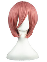 HitmanReborn-Giotto Dark Pink 14inch Anime Cosplay Wig CS-001G