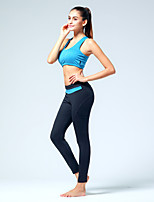 Running Bottoms / Pants Women's Breathable / Sweat-wicking Polyester / ElastaneYoga / Pilates / Fitness / Leisure Sports / Cycling/Bike /