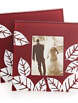 Fall in Love Leaf Photo Glass Coaster Wedding Tea Party Souvenirs (1pcs)