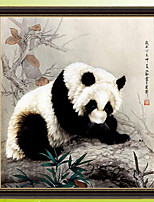 DIY Diamond Mosaic 5D Round Rhinestones Giant Panda Diamond Painting Cross Stitch Diamond Embroidery Kits 55*59cm