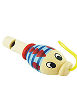 Wood Random Child Animal Whistle for Children Above 3 Musical Instruments Toy Random Delivery