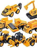 Children's toy car truck 1:48 back of alloy car model toy excavators 1:55 Dump Truck (9PCS)