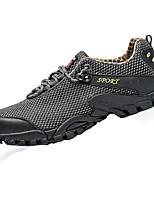 Scarpe da uomo-Sneakers alla moda-Tempo libero-Tulle-Blu / Rosso / Grigio / Kaki