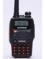 BaoFeng UV-5R UP Walkie Talkie 5W 128 136-174MHz / 400-520MHz 1800mAh 1'5KM-3KMRadio FM / Comando por Voz / Banda Dual / Display Dual /