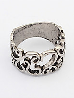 Exaggerated Irregular Hollow Ring