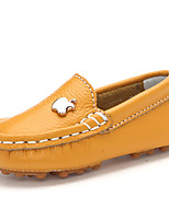 Girls' Shoes Casual Comfort Leather Flats Blue / Yellow / Red