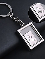 Zinc Alloy Keychain Favors-1 Piece/Set Keychains Asian Theme Personalized Silver / Gold