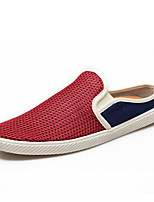Men's Shoes Casual Tulle Loafers Black / Blue / Red / Gray
