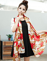 Ms Carriage Pattern Chain Printed Chiffon Scarves