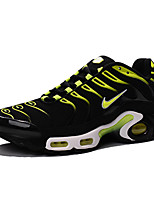 Nike Air Max Plus TXT TN Men's Sneaker Running Shoes Fabric Green / Navy / Orange