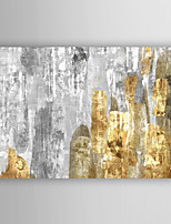 Hand Painted Oil Painting Abstract Mixed Metallics with Stretched Frame 7 Wall Arts®