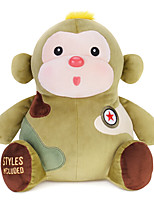 Metoo Microphone Rabbit Plush Toy Monkey  Sunpoo Monkey Mascot Creative Birthday Gift Army Fatigues 10.5 Inches