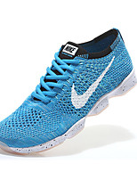 Nike Flyknit Zoom Agility Men's Running Shoes Athletic Shoes trainers Sneaker  Fabric Blue / Orange