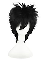 Naruto-Uchiha Sasuke Black 14inch Anime Cosplay Wig CS-011D