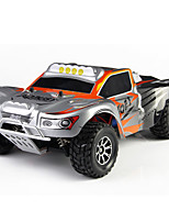 Wltoys A969 2.4G 4CH 4WD Remote Control RC Car High Speed Stunt Racing Car Source  include three batteries