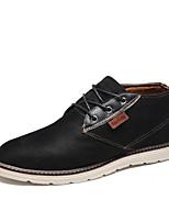 Men's Shoes Casual Fleece Fashion Sneakers Black / Blue / Gray / Khaki