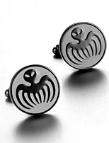 Men's Fashion Octopus Print Alloy French Shirt Cufflinks (1-Pair)