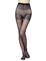 Women's Beautiful trend of core-spun silk Jacquard pantyhose