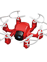 FQ777 FQ777-126C Zumbido 6 ejes 4 canales 2.4G RC QuadcopterRetorno con un botón / Modo de Control Directo / Vuelo invertido de 360