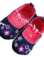 Baby Shoes Outdoor Denim Flats Blue