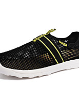 Men's Shoes Athletic Tulle Fashion Sneakers Black / Gray