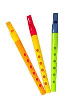 gelb / grün Kind Flöte für alle Kinder Musikinstrumente Spielzeug gelegentliche Anlieferung