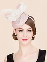 Women's / Flower Girl's Flax / Silk Headpiece-Wedding / Special Occasion / Casual Hats 1 Piece
