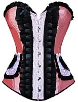 Damen Brustkorsett - Polyester Schnüren