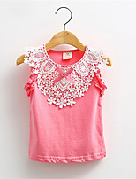 New Fashion Summer Floral Tanks Candy Color Flower More Design Vest for Girls Camisoles Outwear