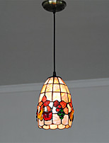 5 inch Retro Tiffany Pendant Lights Shell Shade Living Room Dining Room light Fixture