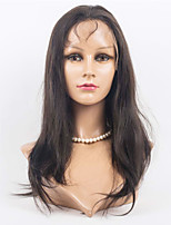 Indian Virgin Hair Lace Wigs Silk Straight Lace Front Human Hair Wigs For Women