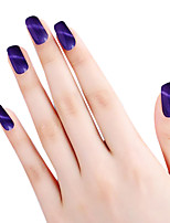 SIOUX Cat Eye Purple Glitters 6ML Nail Glue Nail Polish for 2 Years