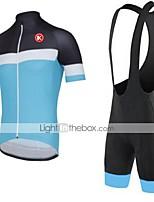 Ensemble de Vêtements/Tenus(Bleu Ciel) deCyclisme/Vélo-Respirable / Séchage rapide / Résistant à la poussière / Vestimentaire / mèche /