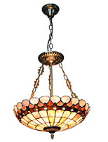 16 inch Retro Tiffany Pendant Lights Shell Shade Living Room Dining Room light Fixture