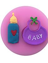 Feeding-Bottle /Baby Style Candy Fondant Cake Molds  For The Kitchen Baking Molds