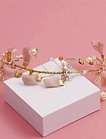 Damen / Blumenmädchen Perle / Legierung / Stoff Kopfschmuck-Hochzeit / Besondere Anlässe / Freizeit Stirnbänder 1 Stück