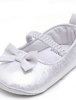 Baby Shoes Outdoor Glitter Flats Silver