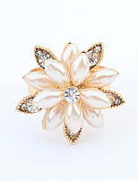 Exquisite Fashion Snow Lotus Ring