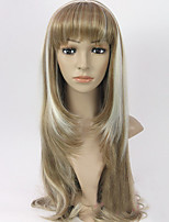 Most Popular European Straight Hair Blonde Synthetic Long Wave Female Wig