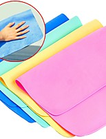 5pc Pack Random Color PVA Cleaning Cloth Kitchen Clean Towel Car Clean
