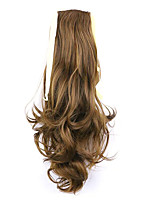 Golden Length 50CM Factory Direct Sale Bind Type Curl Horsetail Hair Ponytail(Color 27)