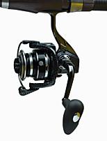 Molinetes Rotativos 5.2:1 13 Rolamentos Trocável Pesca de Mar / Rotação-DT4000 FDDL