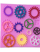 Wheels Type Candy Fondant Cake Molds  For The Kitchen Baking Molds