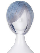 Girl's Party Short Straight 32cm Wig Multi-Color Lolita Wig